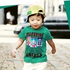 เสื้อแขนสั้นBEARBRIOK-สีเขียว-(5-ตัว/pack)