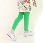 กางเกงเลกกิ้งจี๊ดจ๊าด-สีเขียวสด--(5-ตัว-/pack)