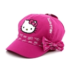 หมวกแก้ป-ลาย-Hello-Kitty-ติดโบว์-สีชมพู(10ใบ/แพ็ค)