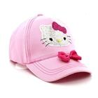 หมวกแก้ป-Hello-Kitty-หน้าวิ๊งติดโบว์-(10ใบ/แพ็ค)