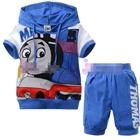 ชุดเสื้อกางเกง-THOMAS-มีฮูด-สีฟ้า-(6size/pack)
