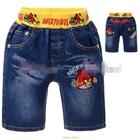 กางเกงยีนส์ขาสั้น-Angry-Birds-Raubow-(5size/pack)