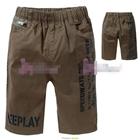 กางเกงขาสั้น-JEEPLAY-สีน้ำตาล-(5size/pack)