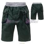 กางเกงขาสั้นซาฟารี-สีเขียว-(5size/pack)