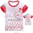 เสื้อแขนสั้น-PLAY-GAME-สีขาว-(5size/pack)