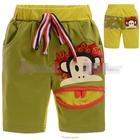 กางเกงขาสั้น-Paul-ปากกว้าง-สีเขียว-(5size/pack)