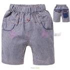 กางเกงขาสั้น-CHILD-CHAMP-สีน้ำเงิน-(5size/pack)