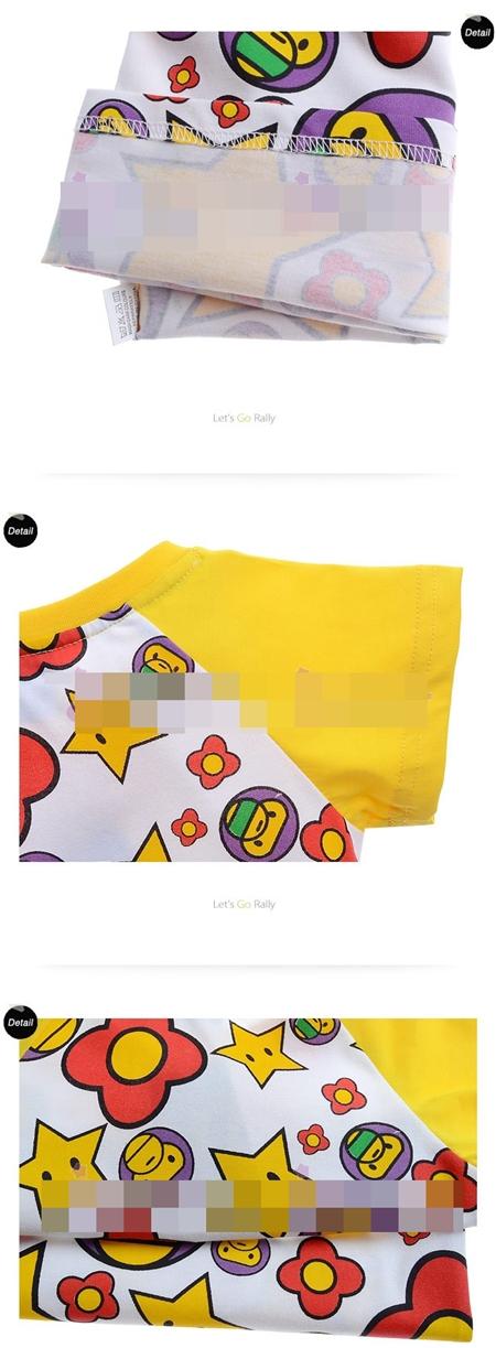 เสื้อแขนสั้น MILO STAR  (6size/pack)