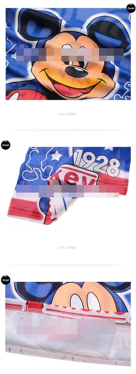 เสื้อแขนสั้น Mickey Star (6size/pack)