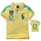 เสื้อโปโล-BOUTH-AFRDA-สีเหลือง-(5size/pack)