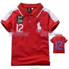 เสื้อโปโล-BOUTH-AFRDA-สีแดง-(5size/pack)