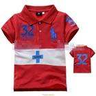 เสื้อโปโล-32-SUISSE-สีแดง-(5size/pack)
