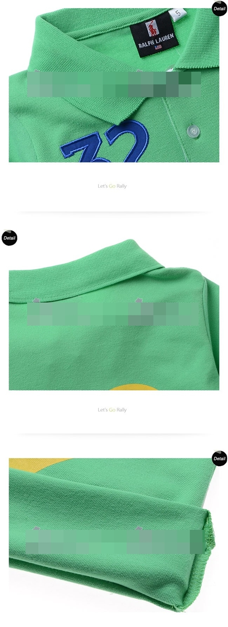 เสื้อโปโล 32 SUISSE สีเขียว (5size/pack)