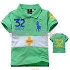 เสื้อโปโล-32-SUISSE-สีเขียว-(5size/pack)