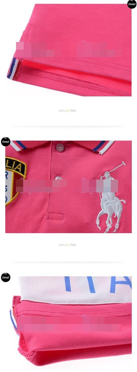เสื้อโปโล ITALIA RLPO สีชมพู (5size/pack)