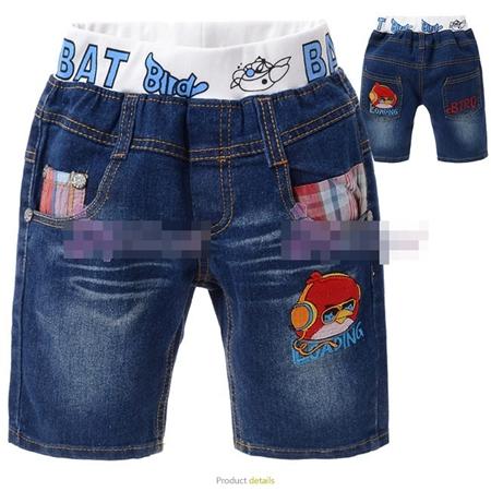 กางเกงยีนส์ Angry Birds ฟังเพลง (5size/pack)