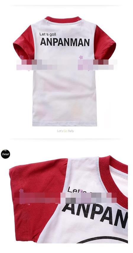 เสื้อแขนสั้ัน อันปังแมนแก้มแดง (6size/pack)