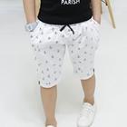 กางเกงขาสามส่วนลายสมอเรือ-สีขาว-(5-ตัว/pack)
