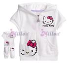 ชุดเสื้อกางเกง-Hello-Kitty-สีขาว-(5size/pack)