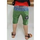 กางเกงขาสามส่วนลายอุ้งเท้า-สีเขียว-(5-ตัว/pack)