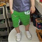 กางเกงขาสามส่วน-STAR-สีเขียว-(5-ตัว/pack)