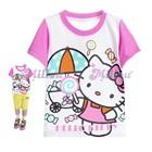 เสื้อยืดแขนสั้น-Hello-Kitty-สีขาว-(6size/pack)