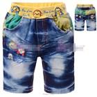 กางเกงยีนส์ลายลิงสามตัว-(5size/pack)