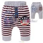 กางเกงขาสามส่วนลิงใส่หมวก-สีเทา-(5size/pack)
