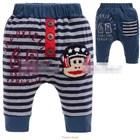 กางเกงขาสามส่วนลิงใส่หมวก-สีกรมท่า-(5size/pack)