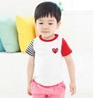 เสื้อยืดแขนสั้น-Play--Comme-สีขาว-(5size/pack)