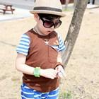 เสื้อแขนสั้น-No.1-สีน้ำตาล-(5size/pack)