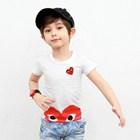 เสื้อแขนสั้น-Big-Play-Comme-สีแดง-(5size/pack)