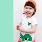 เสื้อแขนสั้น-Big-Play-Comme-สีเขียว-(5size/pack)