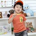เสื้อแขนสั้น-Caype-diem-สีส้ม-(5size/pack)