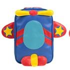 กระเป๋าเป้ล้อลากเครื่องบินสีฟ้า-(3-ใบ/pack)