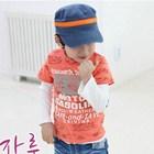 เสื้อแขนสั้น-Freedom-RoadMap-สีส้ม-(5size/pack)