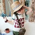 เสื้อแขนสั้น-I-GOT-YOUR-BACK-ปกเขียว-(5size/pack)