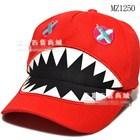 หมวกแก้ป-Monster-ฟันแหลม-คละสี-(9ใบ/แพ็ค)