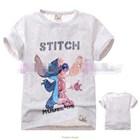 เสื้อแขนสั้น-Stitch-Robot-สีเทา-(5size/pack)