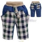 กางเกงยีนส์ขาสามส่วนลูกครึ่ง-แบบ-D-(5size/pack)