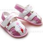 รองเท้ารัดส้นลายจรวด-สีชมพู-(4-คู่/แพ็ค)
