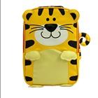 กระเป๋าเป้ล้อลากเสือน้อยน่ารักสีเหลือง-(3-ใบ/pack)