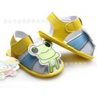 รองเท้ารัดส้นกบเกโระ-สีเหลือง-(4-คู่/แพ็ค)