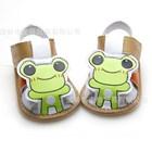 รองเท้ารัดส้นกบเกโระ-สีน้ำตาล-(4-คู่/แพ็ค)