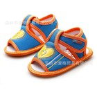 รองเท้ารัดส้นหัวใจซ่อนแอบ-สีฟ้า-(4-คู่/แพ็ค)