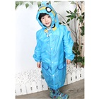 เสื้อกันฝนรถยนต์สีฟ้า-(5-ตัว/pack)