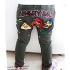 กางเกงขายาว-Angry-Bird-สีเขียว-(5size/pack)