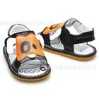 รองเท้าหนังรัดส้นน้องหมาตาดำ-สีส้ม-(5-คู่/แพ็ค)