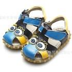 รองเท้ารัดส้น-Spongbob-ตาโต-สีฟ้า-(5-คู่/แพ็ค)