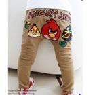 กางเกงขายาว-Angry-Bird-สีน้ำตาล-(5size/pack)